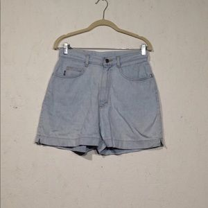 Lee Riders | Vintage High Waisted Shorts 11 Denim